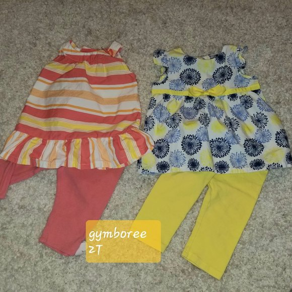 0 3 6 12 2T NWT Gymboree Baby Toddler Girl 2 pc Set Top /& Skirt